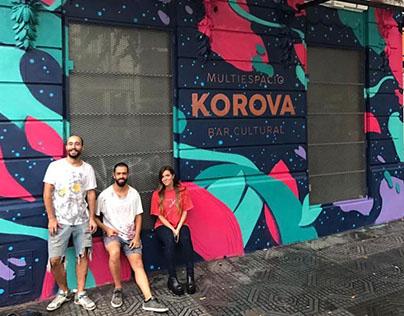 Mural para Bar Korova