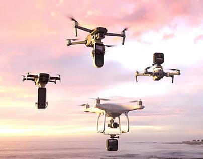 [cgi] dji drone renders for djimounts.com