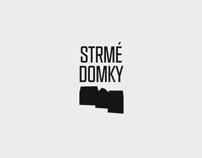 Strmé Domky Logo