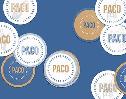 PACO | restaurant • tapas • bar