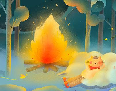 蝦條遊記系列3 | 晚安森林