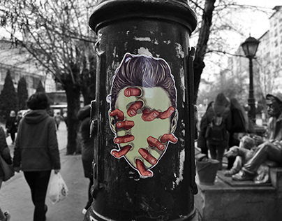 Persona on the street