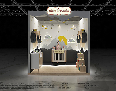 Exhibition Design - Bebe Roosie