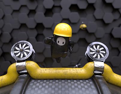Fall Guys - Game design concept
