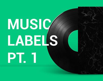 MUSIC LABELS PART. 1