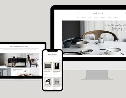 Nordic Butik // E-commerce