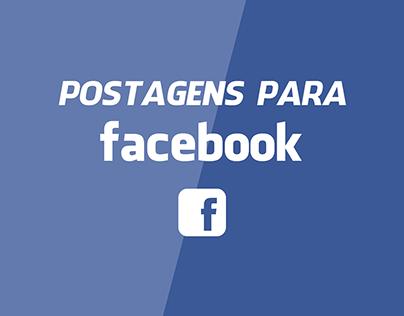 POSTAGENS PARA FACEBOOK
