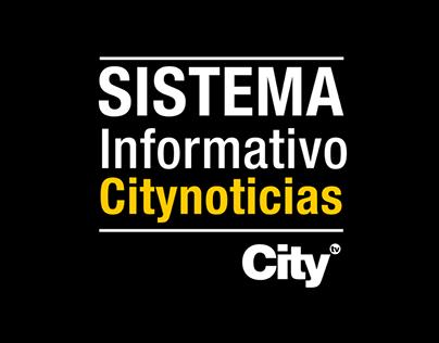 Campaña presentadores Sistema informativo Citytv