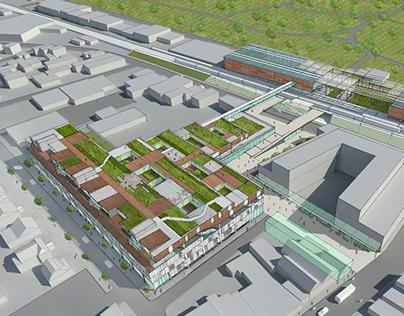 ParkingPLUS: Train Terraces