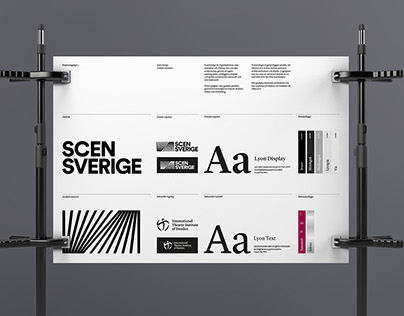 Brandbook for the Swedish Theater Union