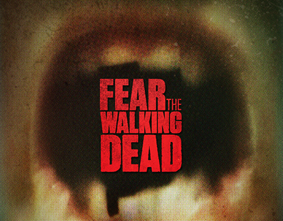 """Fear The Walking Dead"". Cartel promocional (AMC)."