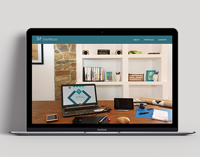 Restyling website -soniamancuso.com
