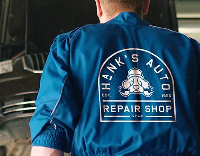 Hank's Auto Repair Shop