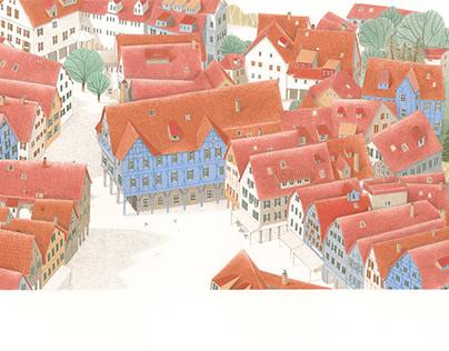 Illustrazione tratta da Silberfunken - Aracari Verlag