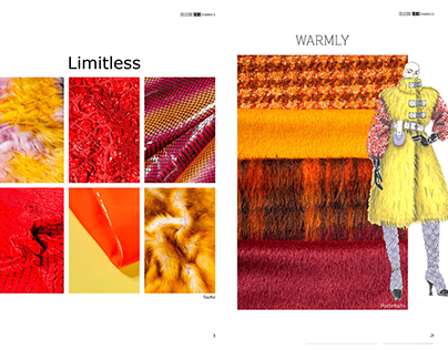 Graphic Project per Collezioni Trends Fashion Magazinne