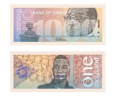 Zimbabwe I Currency Design
