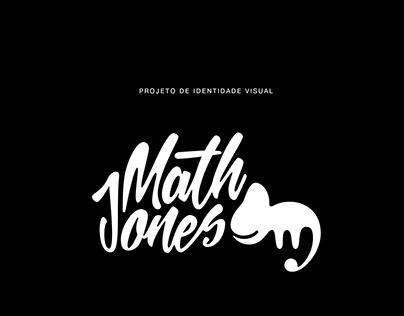 Math Jones   Identidade Visual