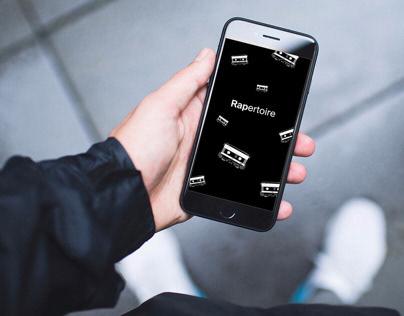 Rapertoire | App Design