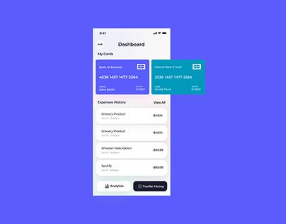 Dashboard App Design