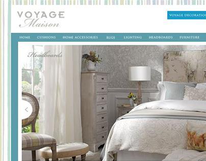 Voyage Maison website