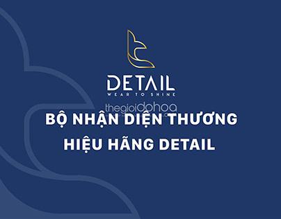 Bộ nhận diện thương hiệu thời trang DETAIL