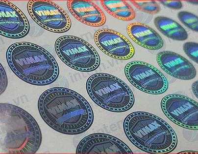 In tem 7 màu nhanh, giá rẻ, nhận in số lượng ít