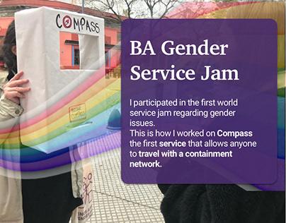 BA Gender Service Jam - Compass