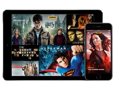 Cinemax Promo App