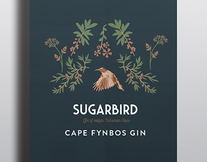 SUGARBIRD GIN | PACKAGING