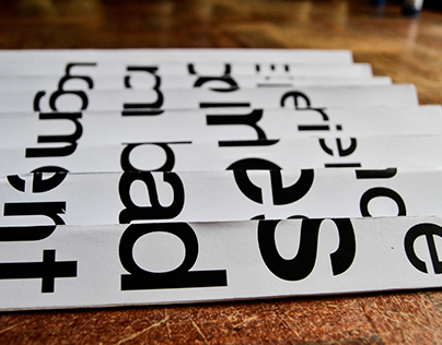 Typography, depends on point of view