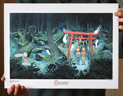 ONIBI - Art Print