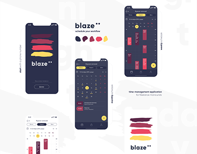 Blaze: time-management application
