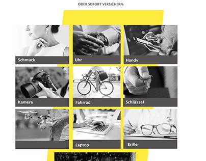 STARTUP WEBSITE PROPOSAL | UX/UI DESIGN