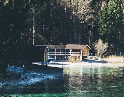 Eibsee, Garmisch-Partenkirchen, Germany