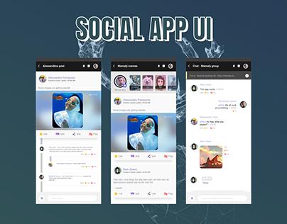 Social app - Concept
