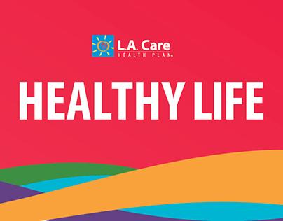 L.A. Care Health Plan Window Clings