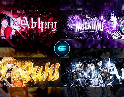 Anime headers