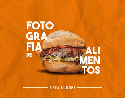Fotografia de alimentos | Beta Buger