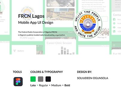 FRCN Lagos Mobile App