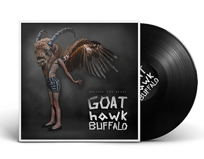 Album cover for GOAThawkBUFFALO