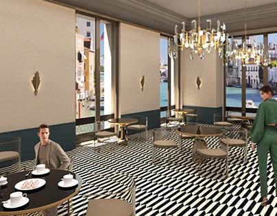 Hotel Breakfast Lounge