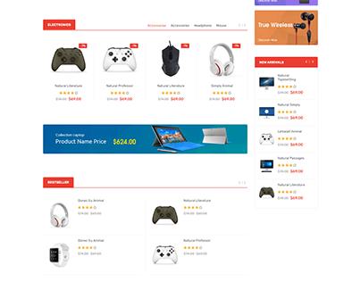 eCommerce HTML Template - Javenist RTL