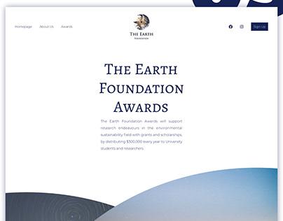 UI concept design for an environment foundation