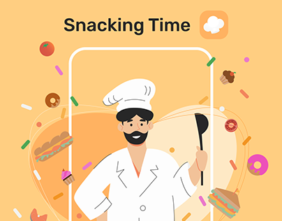 Snacking Time - Cooking App