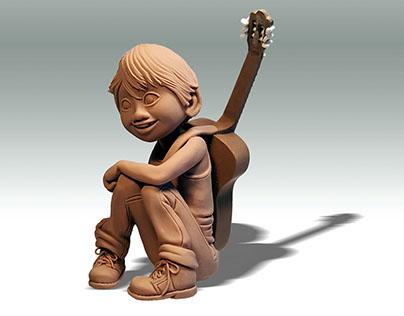 Coco Sculpture