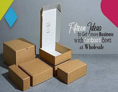 Fifteen Ideas to Get More Business with Cardboard