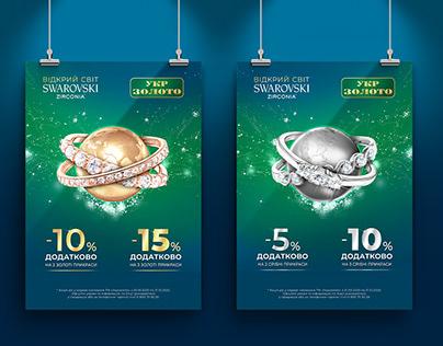 Discover the Swarovski World   Advertising