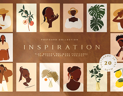 Inspiration Postercard Collection