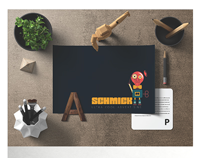"SCHMICK ""49"" ADVERTISING AGENCY / BRANDING"
