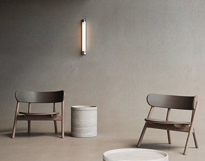 catalog image (render) - Oaki lounge chair - Northern